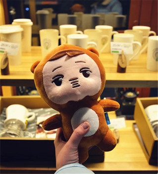 "2017 New 8 Styles KPOP EXO Plush Doh Kyungsoo D.O. 23cm/9"" Baby Doll Stuffed Handmade Fans Toy Collection Gift Toy"
