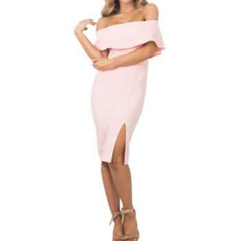 2017 womens bodycon kapalı omuz clubwear kokteyl parti kısa mini dress 7644